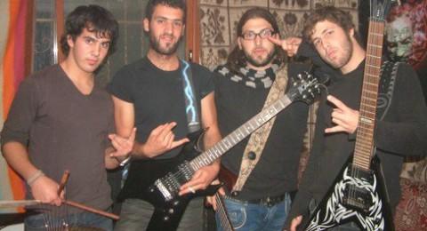لقاء مع فرقة موهوبة   فرقة Black wine من قرية بقعاثا من الجولان السوري المحتل.